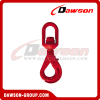 G80 / Grade 80 Swivel Selflock Hook With Bearing for Lifting Chain Slings