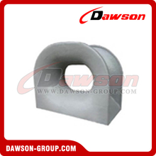 DIN 81915 Bulwark Mounted Panama Chock Type A