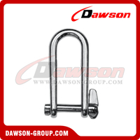 Stainless Steel Key Pin Shackle