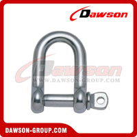 Stainless Steel European Type Dee Shackle