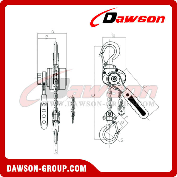 DSVM Lever Block dawson group
