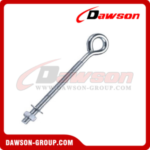 Eye Bolt With Nut Zinc Plated