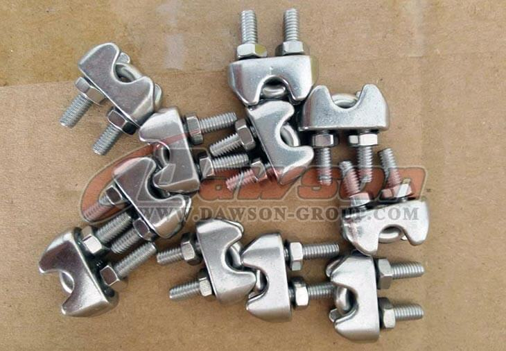 stainless steel US type wore rope clips - China manufacturer supplier1