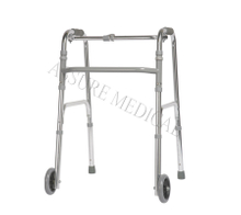 YJ-6600B Standard walker Five-inch fixed front wheels