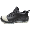2020 New Self-luminous Leather Construction Work Shoes Steel Toe Cap