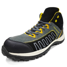 Slip Resistant CE Composite Toe Airport Safety Shoes Sport