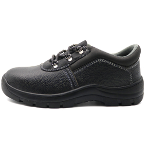 Cheap cemented construction work shoes steel toe