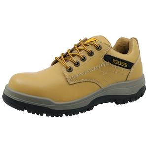 TIGER MASTER Brand Steel Toe Caterpillar Pu Sole Safety Work Shoes for Men