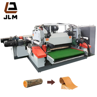 4 Feet Veneer Peeling Spindleless Woodworking Machine