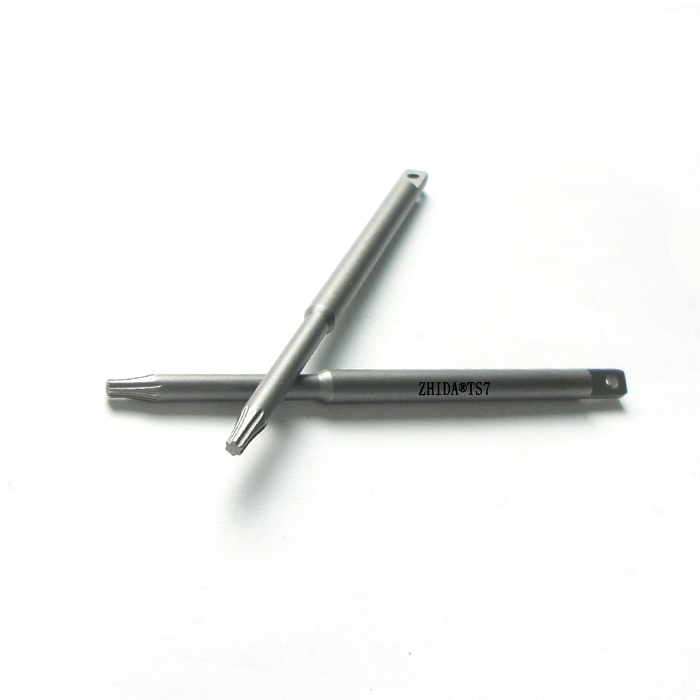 TS7 perforation screwdriver bit