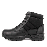 Lightweight police black tactical boots 4111
