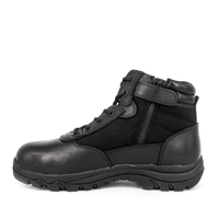 Youth men's tactical boots with zipper 4113
