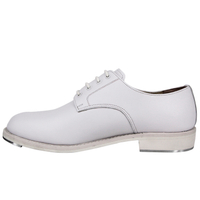 MILFORCE 1274 genuine leather white goodyear police office shoes