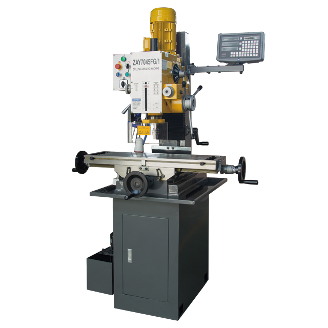 "ZAY7045FG/1 31 1/2"" X 9 1/2"" Gear-Head Benchtop Milling Drilling Machine"