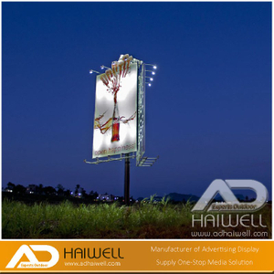 Solarbetriebene-System Advertising Display-Bildschirm