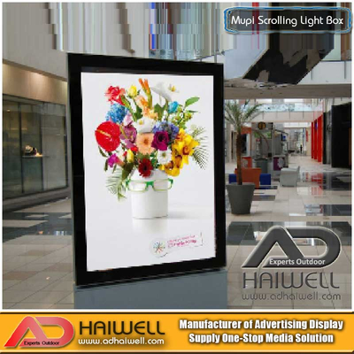 Boden stehend Mupi Scrolling Poster Display