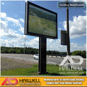 Digital Scrolling Multiple Posters Backlit Billboard