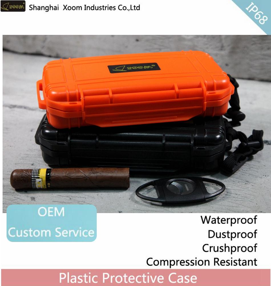 Waterproof Cigar Case Portable 5 Stick Humidor Outdoor Protection