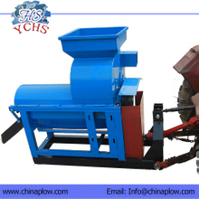 Tractor PTO power corn thresher