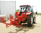Tractor hydraulic reversible plough mouldboard plow