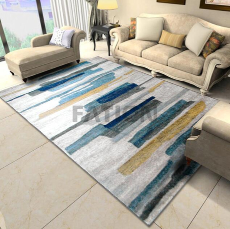 5'×8' Bedroom Area Rug Polypropylene Floor Carpet