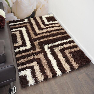 5'×8' Polyester Home Decor Shaggy Rug