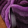 5'×8' Polyester Shag Carpet Purple Fluffy Rug