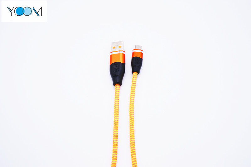 USB Data Electrical Power Micro USB Charging Cable