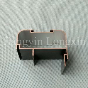 Black Anodized Aluminum Frame for LED