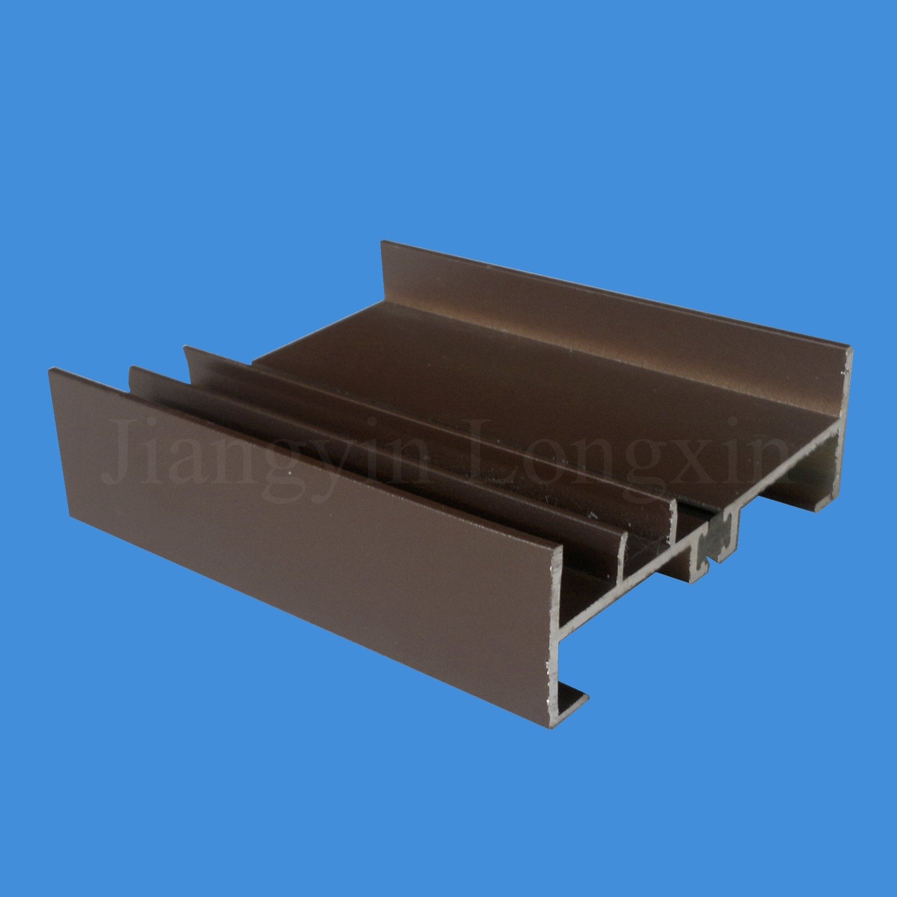 Brown Powder Coated Aluminum Frame for Windows