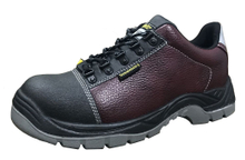 Low ankle microfiber leather pu sole industrial work shoes