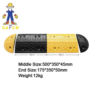 high durability plastic road hump