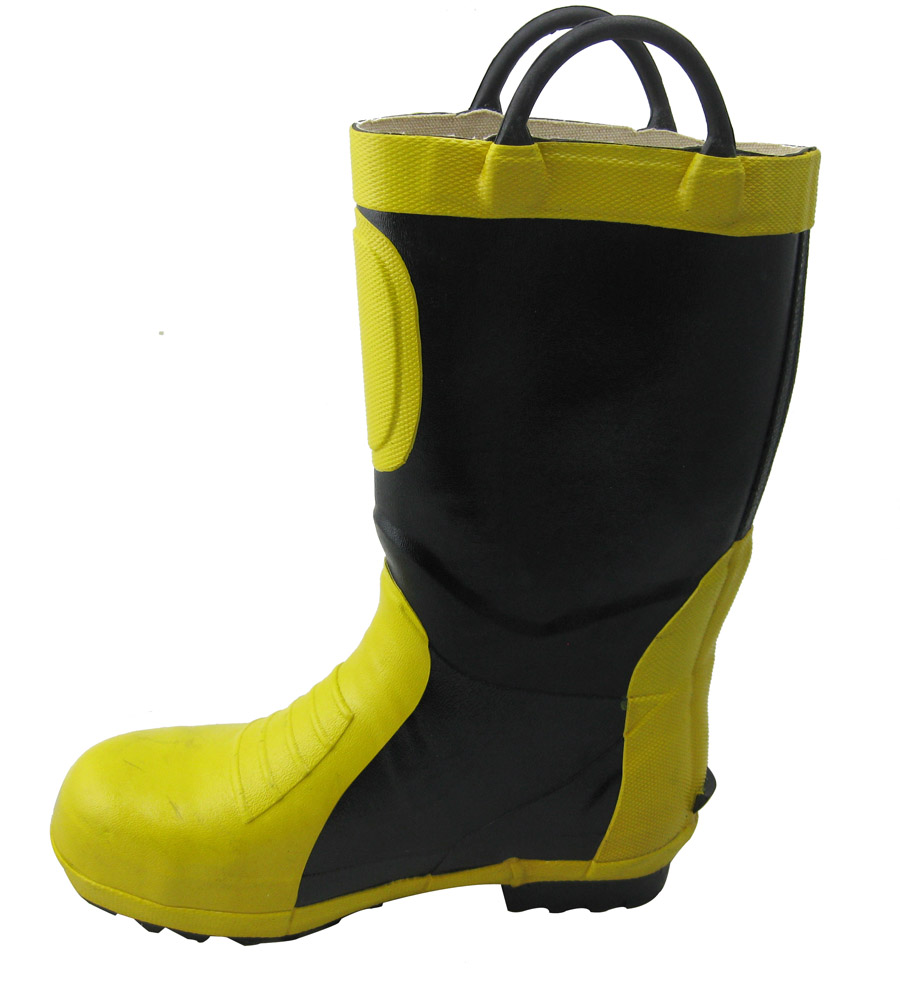 Firemen rubber boots firefighter