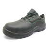 ENS005 pu injection leather european work shoes