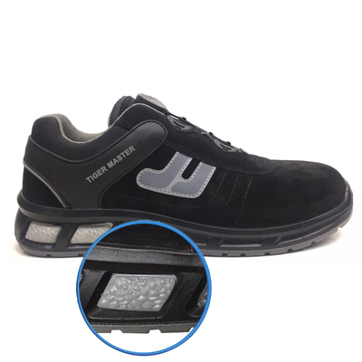 ETPU01 metal free composite toe anti-static sport safety shoes