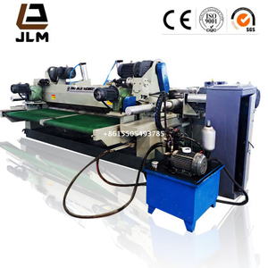 4ft and 8ft automatic Spindleless pine / Oak / eucalyptus wood veneer slicer machine