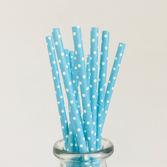 Long Paper Drinking Straws Bulk