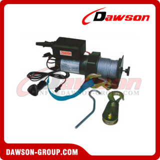 DS-KDJ-2000H DS-KDJ-2500H 2000lbs 2500lbs 12V DC Electric Winch with CE Approval for Boat