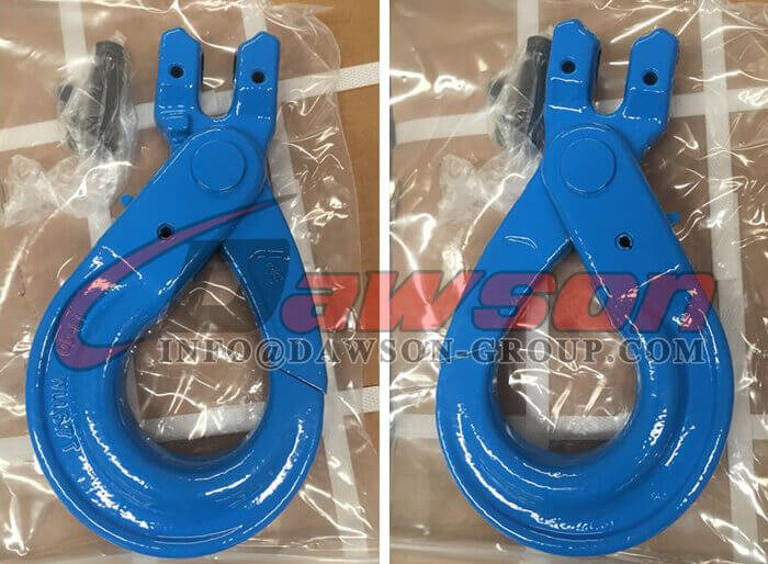 G100 Europeant Type Clevis Self-Locking Hook for Lifting Chain Slings - Dawson Group Ltd. - China Supplier