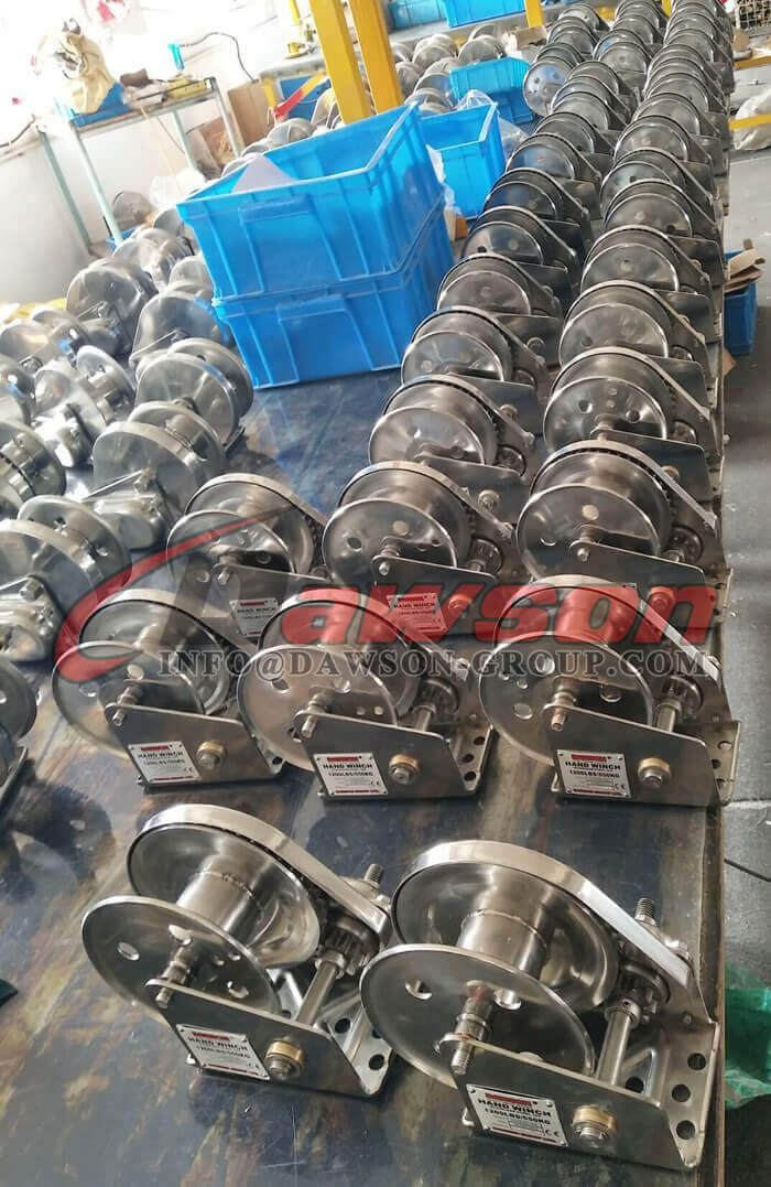Stainless Steel Hand Winch for Pulling - Dawson Group Ltd. - China Manufacturer, Supplier