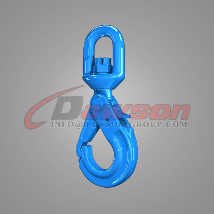 Dawson Grade 100 Special Swivel Self-locking Hook with Grip Latch - China Supplier, Factory