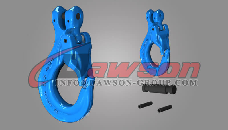 Grade 100 Clevis Sling Hook with Cast Latch - Dawson Group - China Factory, Supplier