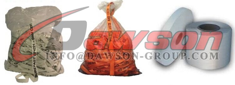 Packge of Polyester Woven Cord Lash Strapping - Dawson Group Ltd. - China Supplier