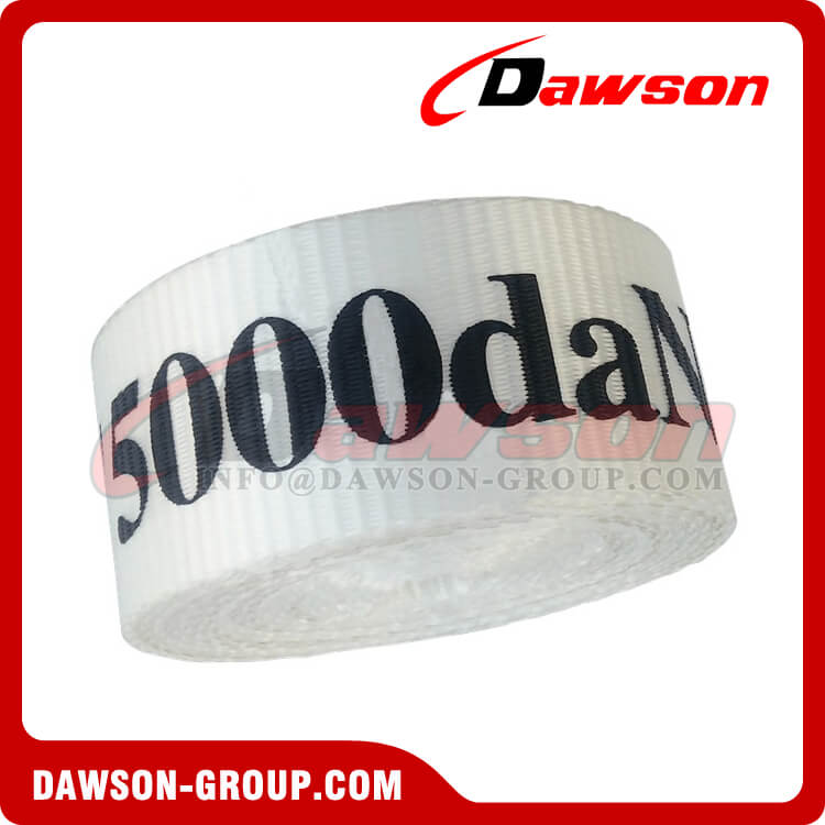50mm 5000daN One Way Lashing Systems, One Way Cord Strap - Dawson Group Ltd. - China Manufacturer