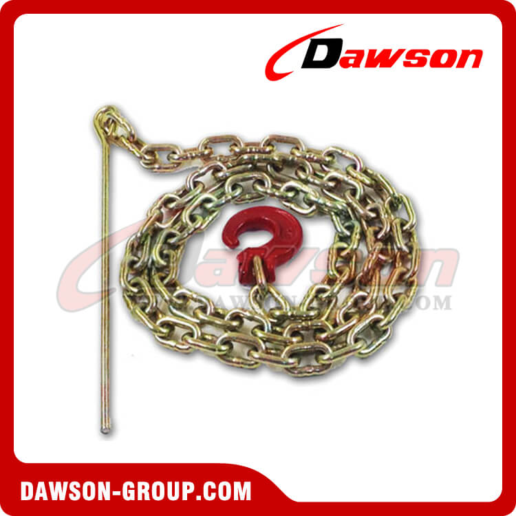 G70 Logging Chain Chokers / Grade 70 Chain with Clevis Forest Hook with Pin