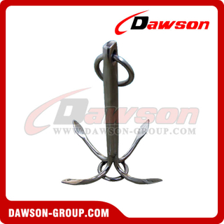 Stainless Steel Forth Claw Anchor / Stainless Steel 316 Fingernails Anchor