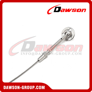 Stainless Steel Swageless Balustrade Rigging Screw Adjuster Flat
