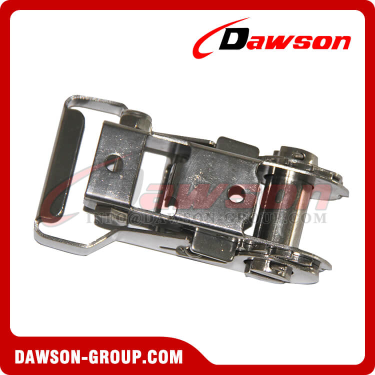 28MM Stainless Steel Ratcheting Buckle, Lashing Buckle - China Supplier