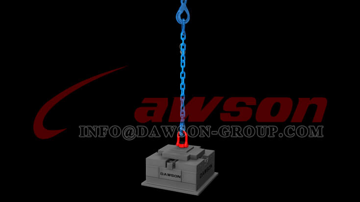Application of Grade 100 Clevis Link for Container Lifting - Dawson Group Ltd. - China Manufacturer