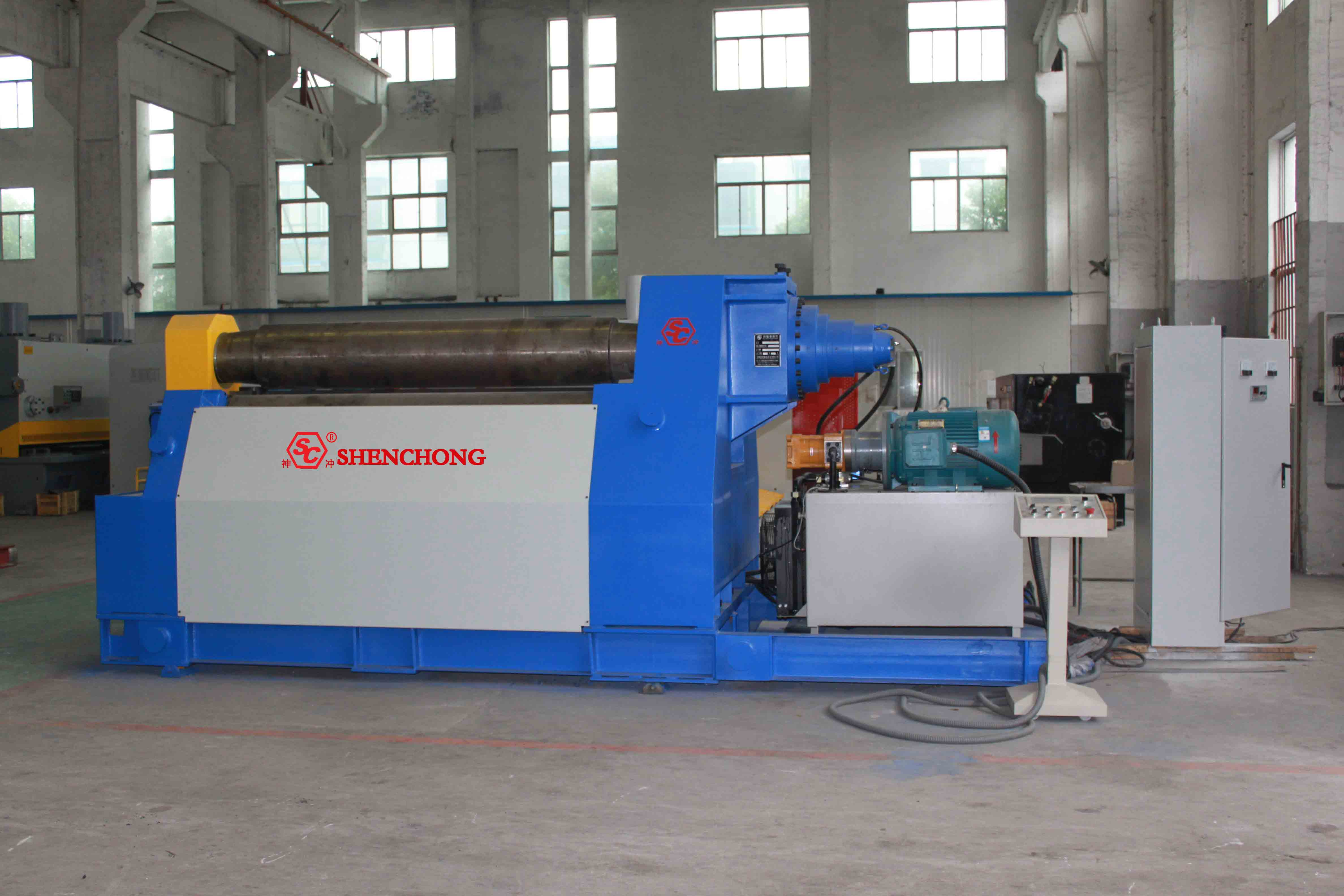 W12 4-roller Hydraulic Bending Roll from China Manufacturer - SHENCHONG